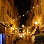 Pezenas at night