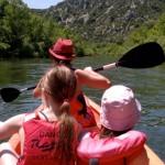 Kayaking on the Herault