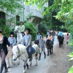 Horse-riding at Trois Fontaines